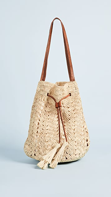 Mar Y Sol Sanibel Bucket Bag