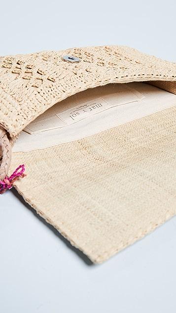 Mar Y Sol Anabel Crochet Cross Body Bag