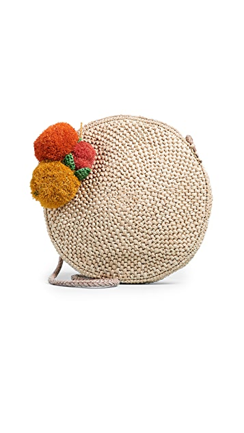 Mar Y Sol Louisa Raffia Cross Body Bag