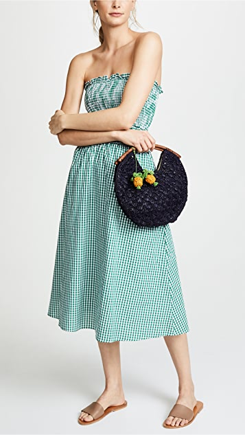 Mar Y Sol Isla Pineapple Clutch