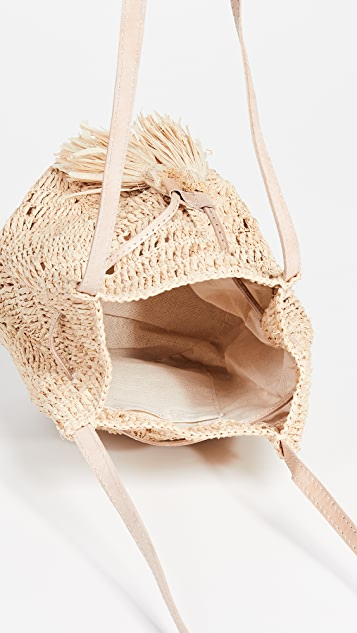 Mar Y Sol Mini Sanibel Bucket Bag