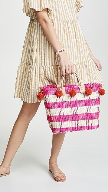 MarYSol Объемная сумка с короткими ручками Pompei