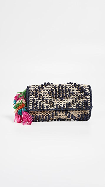 Mar Y Sol Delfine Clutch