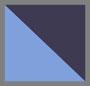 темно-синий с эффектом «омбре»