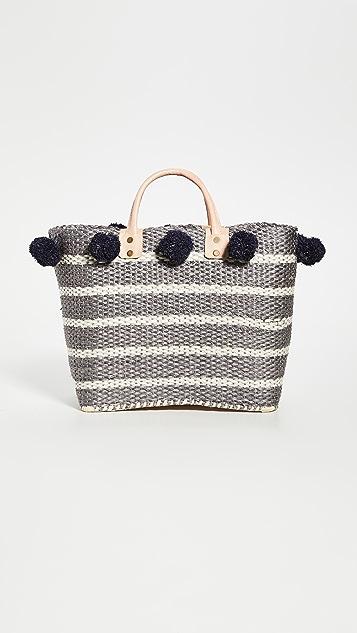 MarYSol Объемная сумка с короткими ручками Kas