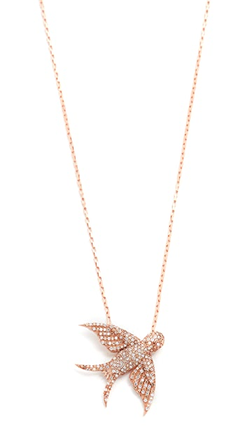 Maha Lozi Birdie Necklace