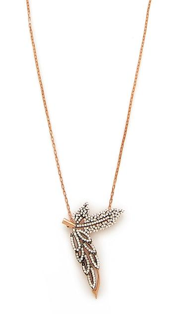 Maha Lozi C'est La Vie Necklace