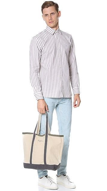 Maison Kitsune Palais Royal Shopping Bag
