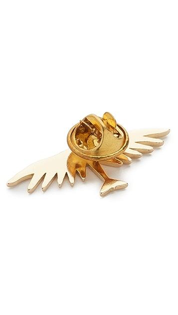 Maison Kitsune Bird Pin