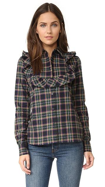 Maison Kitsune Ella Jabot Shirt