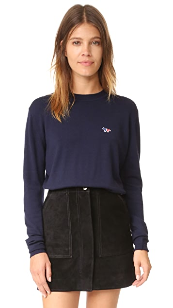 Maison Kitsune Crew Neck Pullover