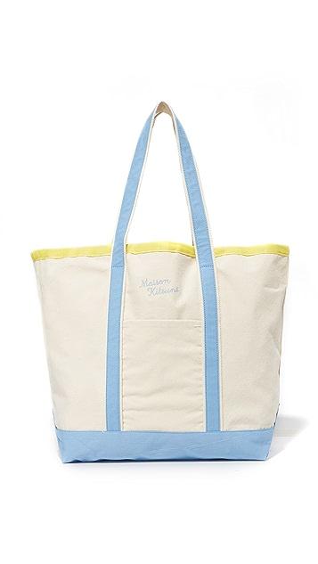Maison Kitsune Richelieu Tote Bag