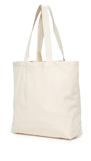 Maison Kitsune Ines Longevial Fox Tote Bag