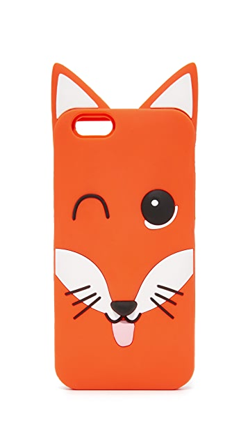 Maison Kitsune 3D Fox Head iPhone 6 Case