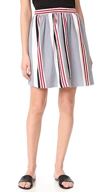 Maison Kitsune Marin Bali Skirt