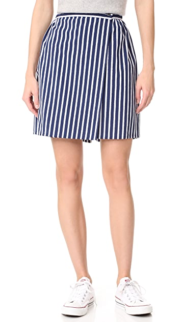 Maison Kitsune Lili Wrap Around Skirt