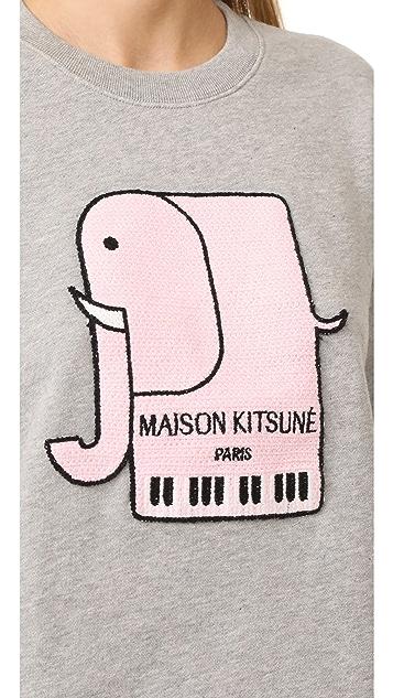 Maison Kitsune Elephant Sweatshirt