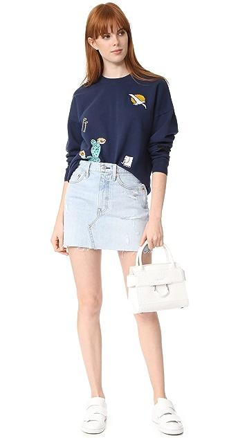 Maison Kitsune Embroidered Sweatshirt