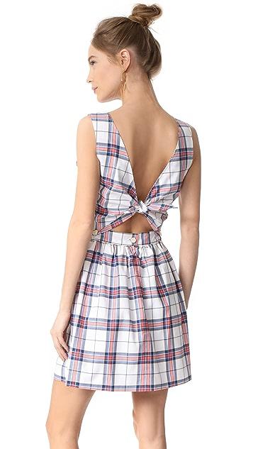 Maison Kitsune Check Bali Dress