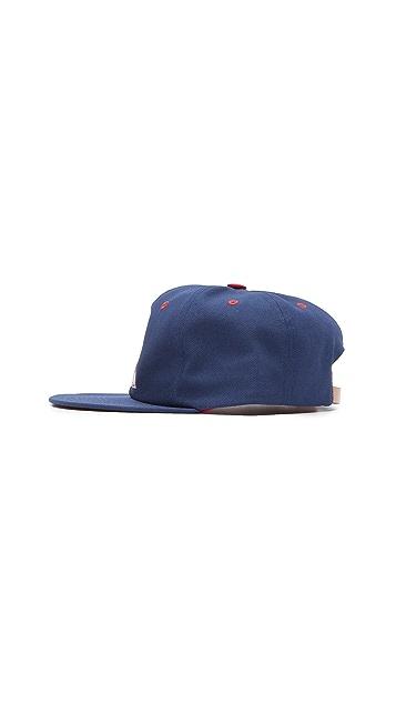 Maison Kitsune MK College Patch Baseball Cap