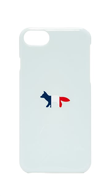 Maison Kitsune Tricolor Fox iPhone 7 Case