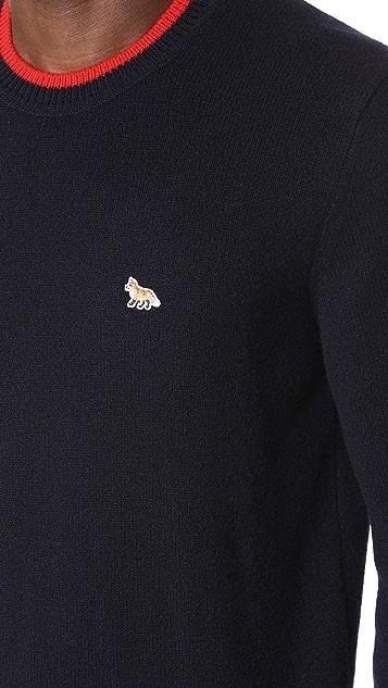 Maison Kitsune Lambswool Pullover