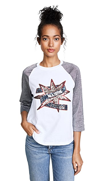 Maison Kitsune Sequin T-Shirt