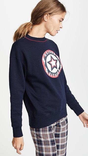 Maison Kitsune Super Maison Kitsune Sweatshirt