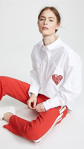Maison Kitsune Verona Button Down Shirt