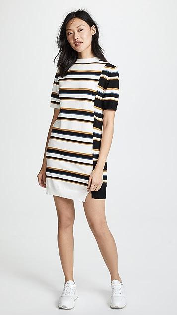 Maison Kitsune Surf Stripe Dress