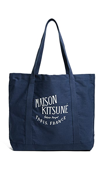 Maison Kitsune Palais Royale Tote Bag