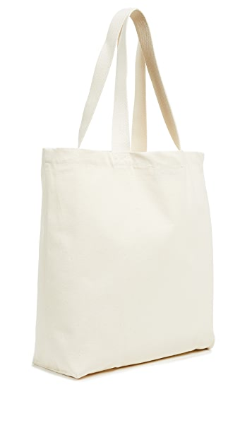 Maison Kitsune Speedboat Tote Bag