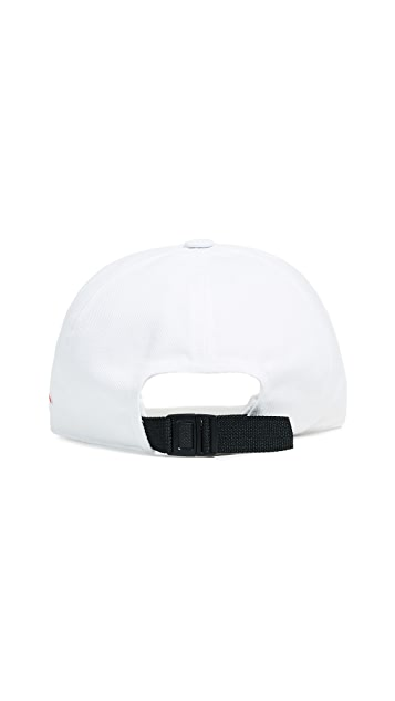 Maison Kitsune Fox 6 Panel Tricolor Cap