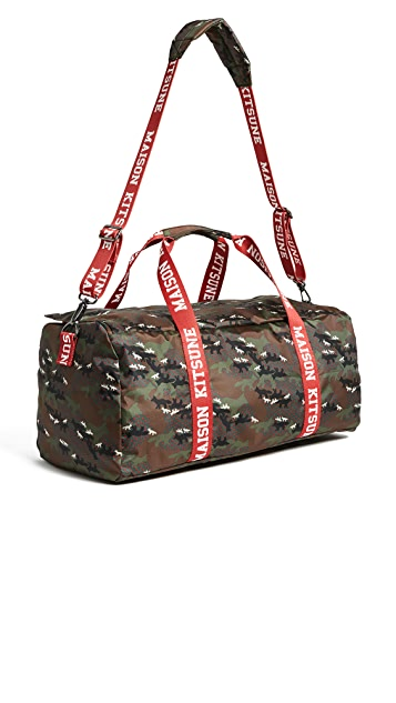 Maison Kitsune Perce Duffel Bag