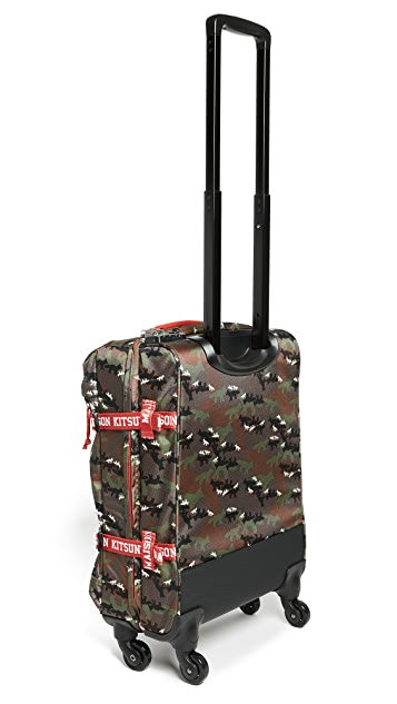 Maison Kitsune Trans Trolley Suitcase