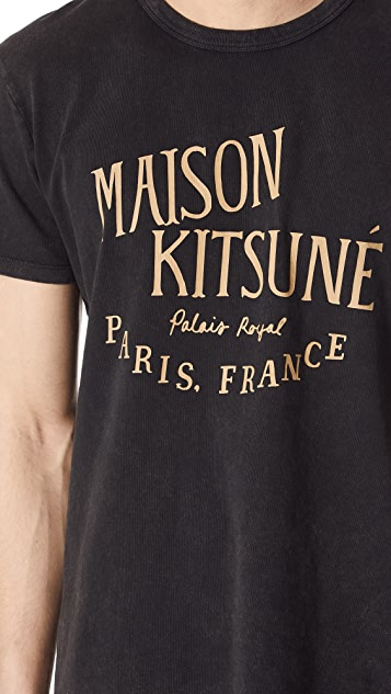 Maison Kitsune Palais Royal Tee