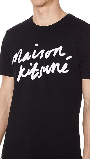 Maison Kitsune Par Rec Tee