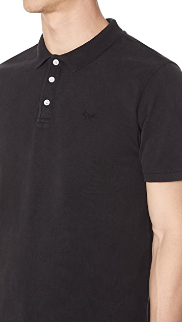 Maison Kitsune Light Pique Polo Shirt