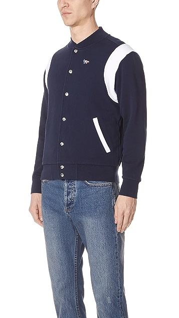 Maison Kitsune Par Rec Teddy Sweatshirt