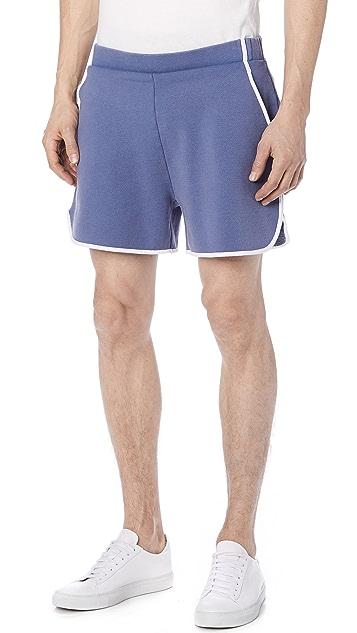 Maison Kitsune Jog Shorts