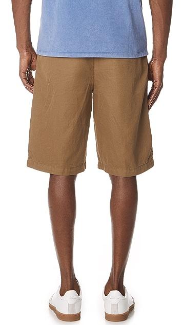 Maison Kitsune Plain Stan Bermuda Shorts