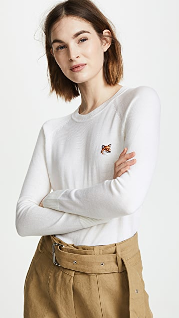 Maison Kitsune Merino Pullover