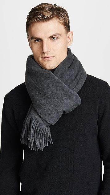Maison Kitsune Wool Scarf
