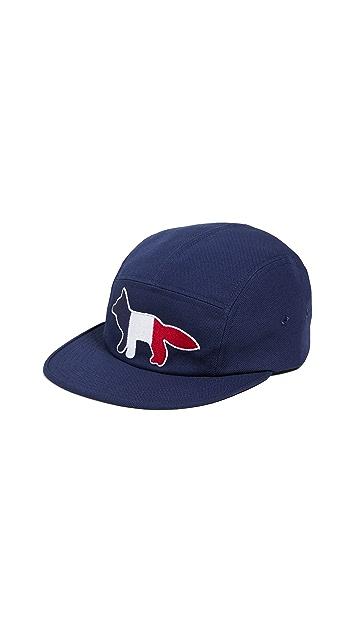 Maison Kitsune Tricolor Fox Hat