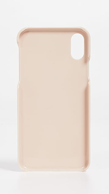 Maison Kitsune Triangle iPhone X Case