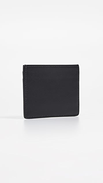 Maison Kitsune Tricolor Card Holder