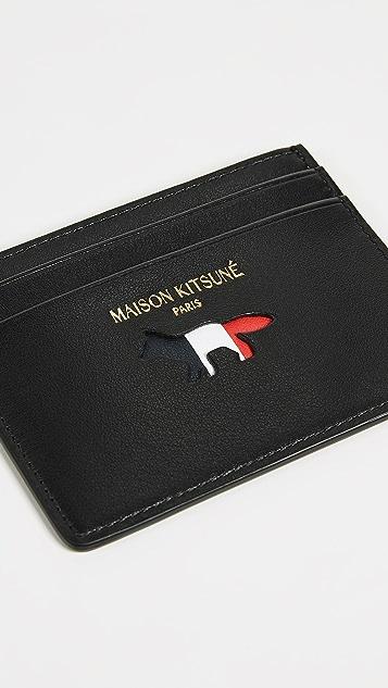 Maison Kitsune Tricolor Wallet