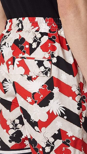 Maison Kitsune Venice Trim Shorts