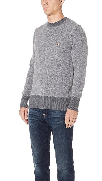Maison Kitsune Wool Sweater