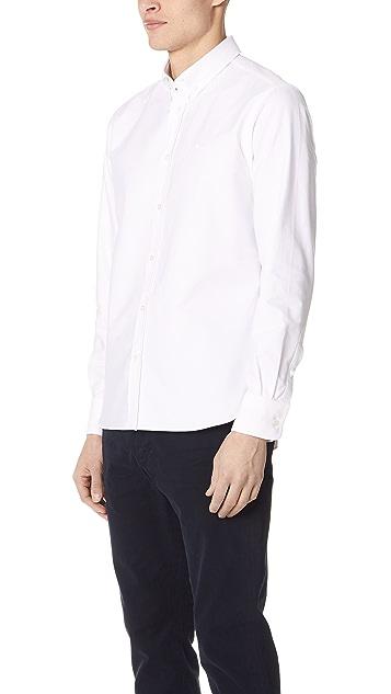 Maison Kitsune Par Rec Oxford Shirt
